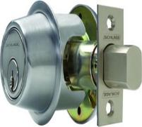 schlage commercial deadbolt lock installation